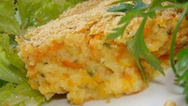 Torta de batata, Cenoura e Cheddar