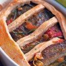 Torta de carne falsa