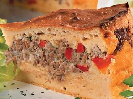 Torta de carne moída com maionese | CyberCook