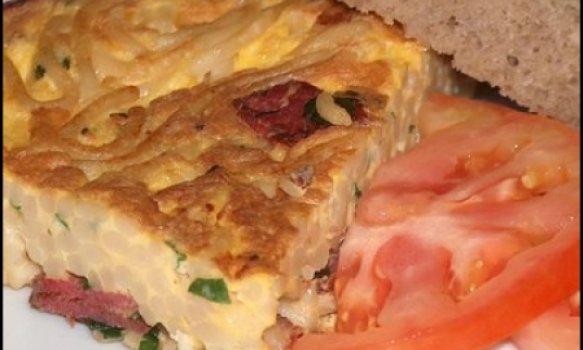 Omelete de Batata