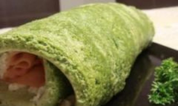 Rocambole de Espinafre