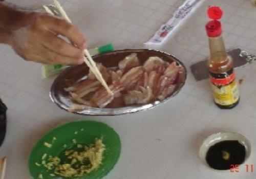 Sashimi de Tucunaré Fresco