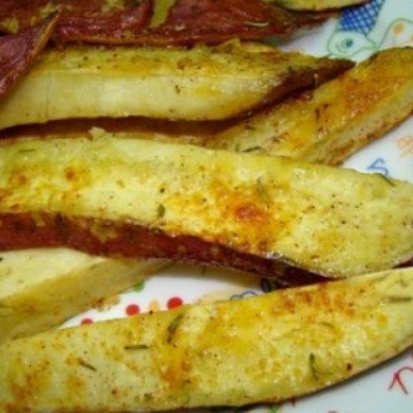 Chips de batata doce com alecrim - Receitas CyberCook