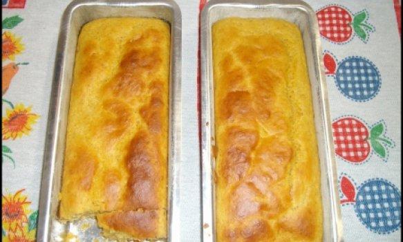 Pão de cenoura e linhaça