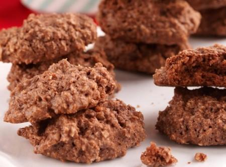Biscoitos de Chocolate e Amêndoas