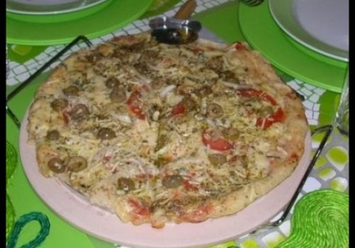 Massa Rápida para Pizza