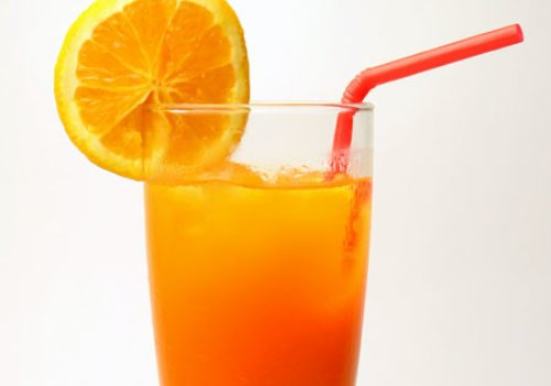 Refrigerante de Laranja Caseiro