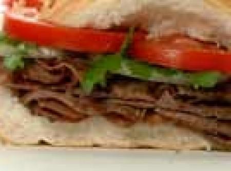 Sanduíche da carne