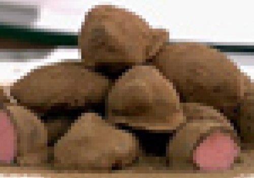 Trufas de Gelatina de Morango