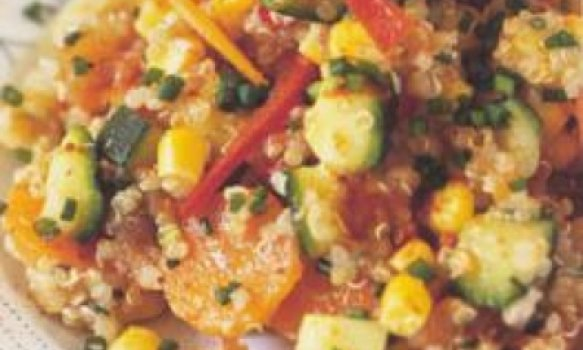 Salada dos Incas - com Quinua Real ou Quinoa