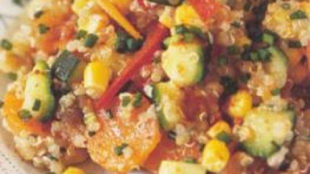 Salada dos Incas com Quinoa