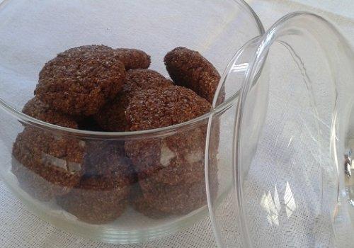 Biscoitos de Farelo de Trigo com Chocolate