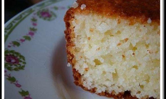 Bolo de arroz cru