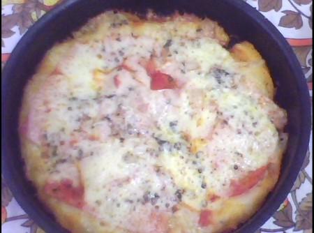 Pizza Brotinho do Chef André   Gisele Bianqueti Gasques