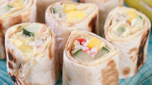 Sushi Califórnia de Pão-folha