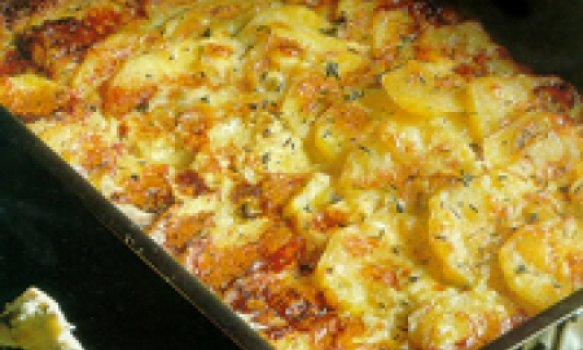 Batata Gratinada com Roquefort