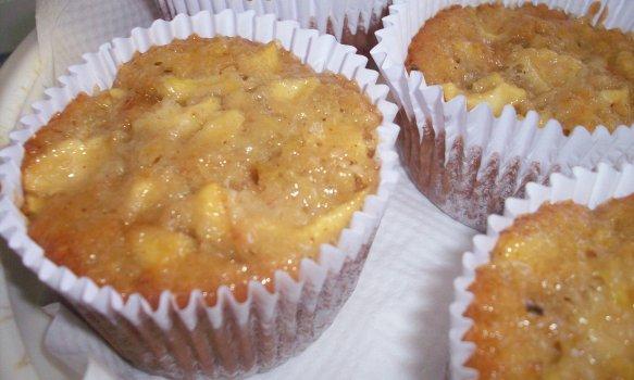 Cupcake de Maçã, Granola e Castanha
