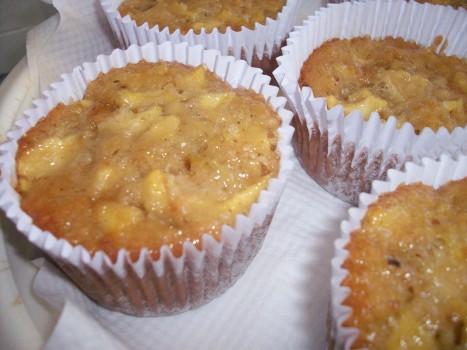 Cupcake de Maçã, Granola e Castanha | cintia rios