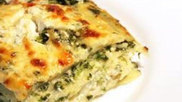 Lasanha Com Espinafre e Gorgonzola