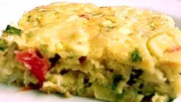 Torta Cremosa de Abobrinha