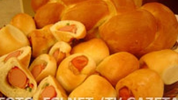 Pão Suíço - Enroladinho