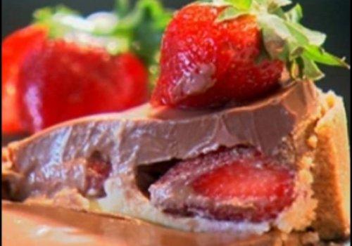 Torta de Chcolate com Morango