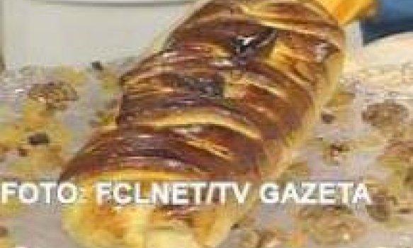 pão de frutas diet