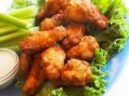 Asas de frango crocantes by k&m