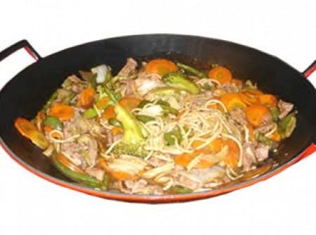 Yakisoba Mista com Espaguete