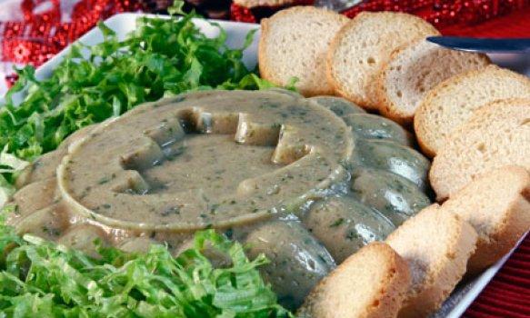 Mousse de Agrião e Gorgonzola