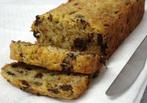 Pão de Banana e Chocolate