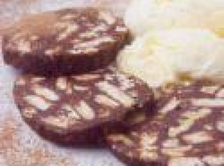 Salame de Chocolate com Canela