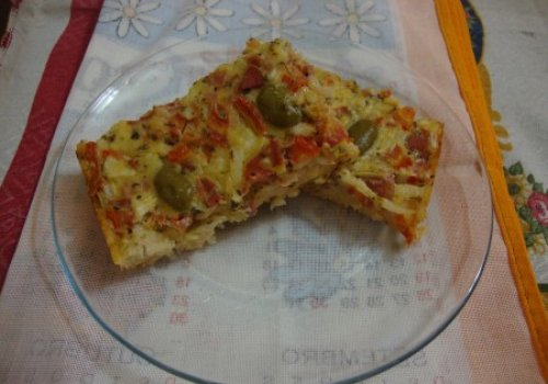 Torta Rápida de Salsicha