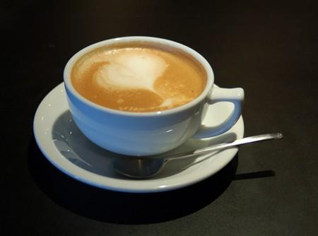 Café caramelado quente