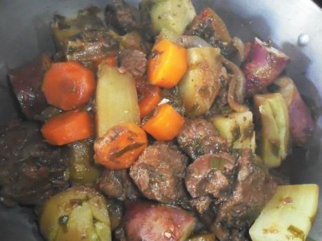 Cozido de Músculo com Legumes (light)