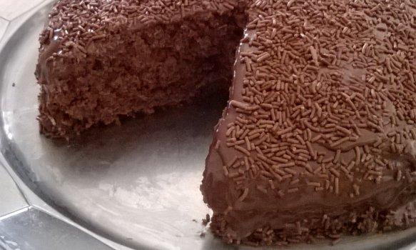 Bolo de Chocolate com Maionese