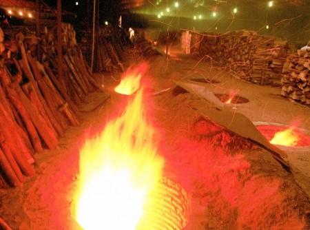 Carneiro no buraco (Prato típico de Campo Mourão, no interior do Paraná)   Everson Luiz Henequi