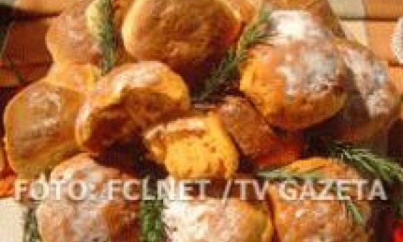 Pão rústico de azeitonas, tomate seco e ervas finas