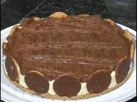 Torta Holandesa de Quinze Minutos