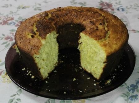 bolo de laranja com a casca