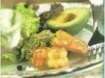 Salada de Camarão, Abacate e Alface | Luiz Lapetina