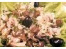 Salada de Bacalhau com Azeitonas Pretas
