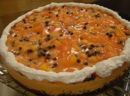Torta mousse de mamão