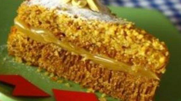 Bolo de Amendoim sem Farinha