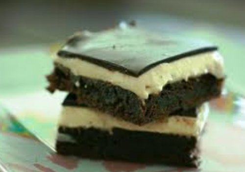 Brownie gelado