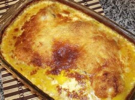 Coxas de frango ao queijo
