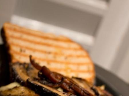 Sanduba portobello, rápido, gostoso e saudável