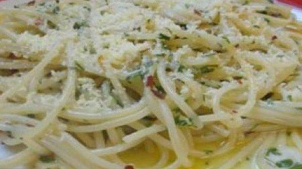 Espaguete Alho e Óleo