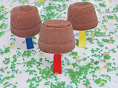 Sorvete de Chocolate no Palito
