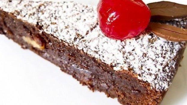 Brownie Aromático de Chocolate
